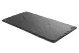 Fototapeta Kamienie - Black slate plate