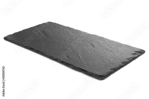 Fototapeta Black slate plate obraz