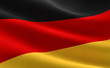 Leinwandbild Motiv Flag of Germany