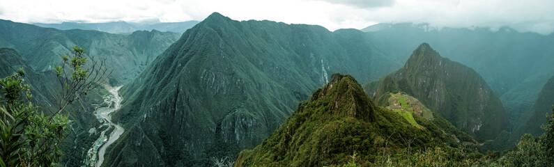 Machu Picchu panoramiczny