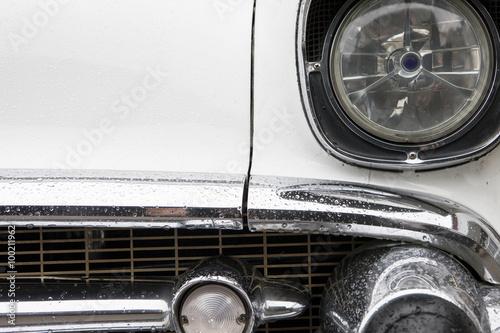 Canvas Prints Vintage cars Vintage car front