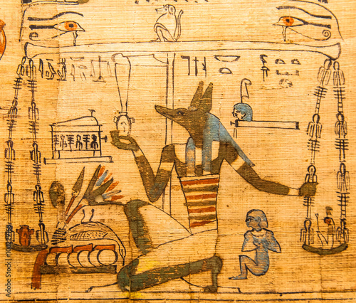 Tuinposter Egypte Book of the Dead