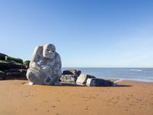 Cleveleys Beach, Lancashire, UK