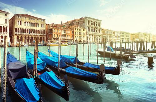 Obraz Grand Canal, Wenecja, Włochy - fototapety do salonu