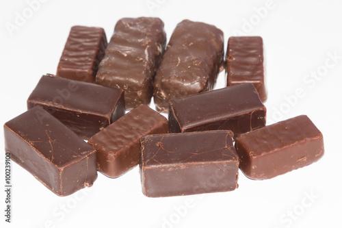Foto op Aluminium Snoepjes sweet chocolate candies