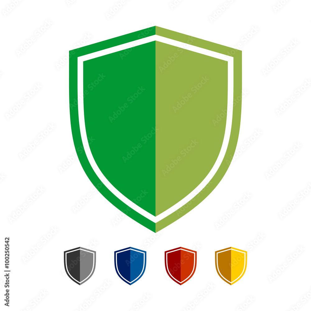 Fotografie, Obraz Shield Basic Shape