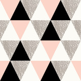 Fototapeta Teenage - Abstract Geometric Pattern