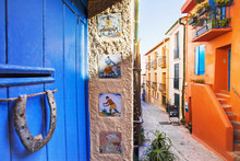 Colorful Street, Collioure, France