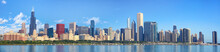 Chicago Skyline Panorama With ...