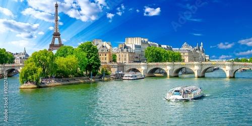 Foto-Kassettenrollo premium - Paris, France