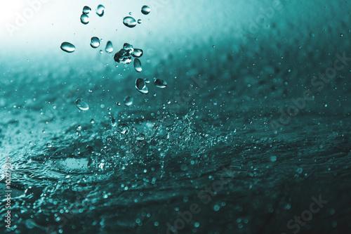 Fotografía  Water drops.