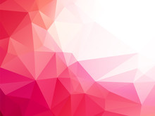 Low Poly Pink Background
