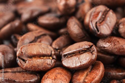 Canvas Prints Coffee beans Brown coffee beans
