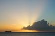 Sunset in St Maarteen