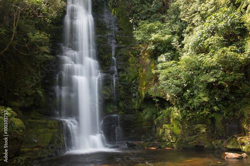 Keuken foto achterwand Watervallen Upper cascade of McLean Falls, New Zealand