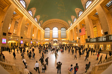 Grand Central Interior In Manh...