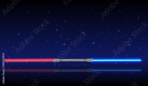 Photographie  Light swords
