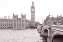Houses Of Parliament And Big B...