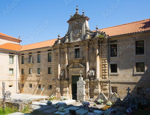Gate of monastery of San Esteban