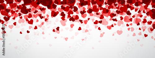 Valokuva Background with hearts.