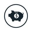 Piggy pig icon