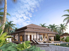 Large Luxury Bungalows On The Islands.