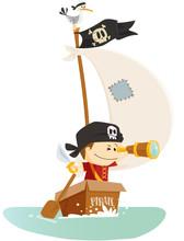 Pirate à La Mer !