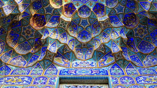 Poster Midden Oosten Shah-Cheragh-Heiligtum in Shiraz
