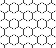 Seamless Monochrome Pattern, B...