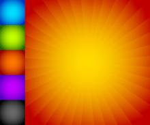 Colorful Starburst (sunburst) ...