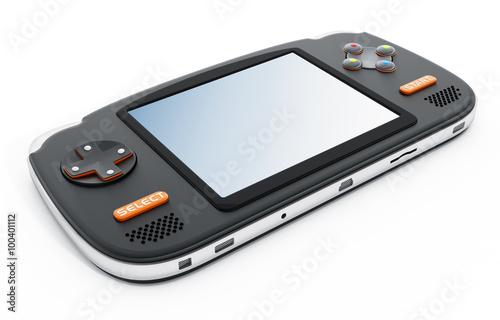 Photo  Retro handheld video game device