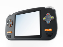 Retro Handheld Video Game Device
