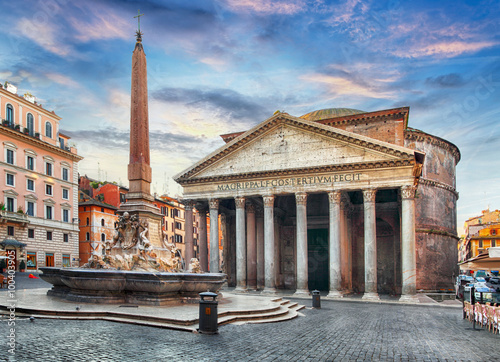 Photo  Rome - Pantheon, nobody