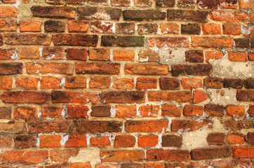 FototapetaTexture of old brick wall