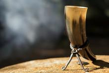 Viking Drinking Horn