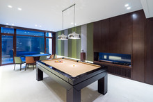 Interior Of Modern Recreation Room