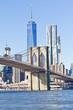 Brooklyn Bridge at New York