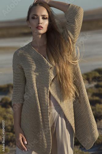 Fotografía  Fashion portrait of a young woman