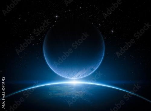 Fototapeta Planets in space