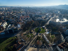 Aerial View Of Rotunda Da Boav...