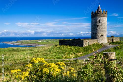 Fotografie, Obraz  Doolin hrad, Irsko