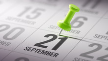 September 21 Written On A Cale...