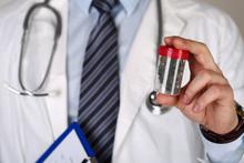 Male Medicine Doctor Hand Holding In Hand Medical Marijuana