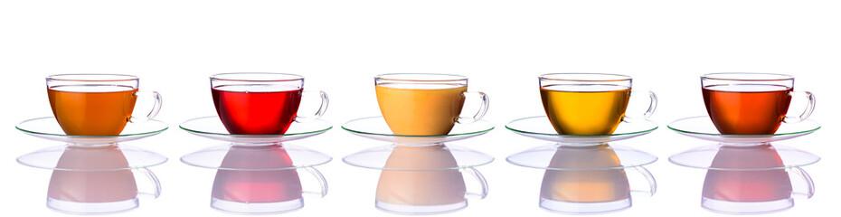 FototapetaCollage of Tea Cups