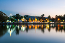 Reflection Of Wat Chong Kham I...