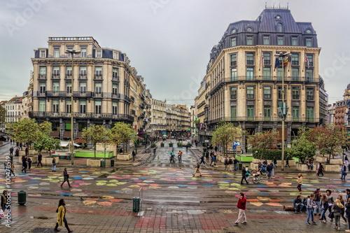 Foto op Canvas Brussel Brüssel