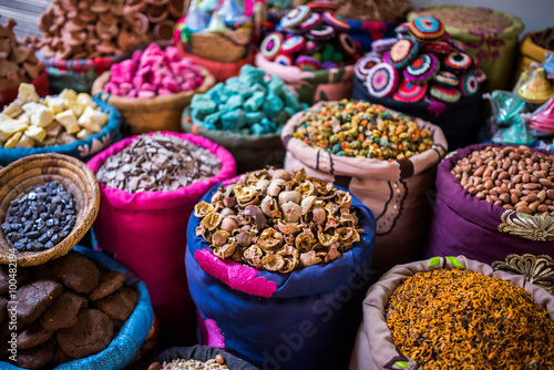 Fotografía  Incense for sale in the souks of Marrakesh