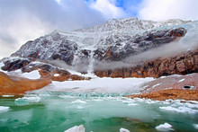 Mount Edith Cavell Jasper Nati...