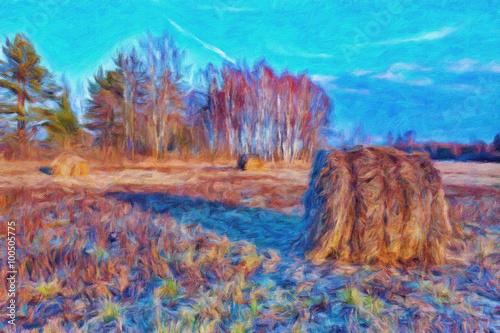 jesien-krajobraz-z-stertami-siano