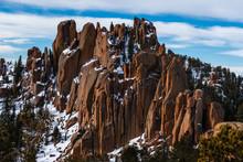 The Crags Divide, Colorado